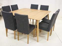 Scandbo Table Oak 140x140